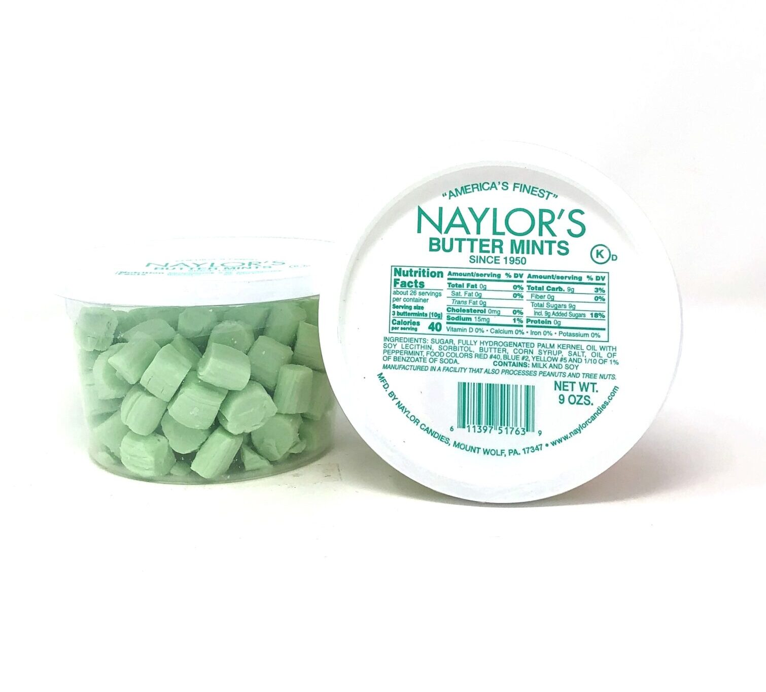 Naylor S Butter Mints 9oz Ashe County Cheese